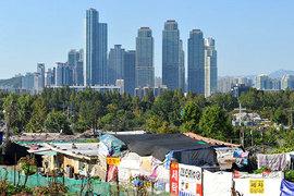 Благодаря усилиям властей квартиры в престижном районе Сеула Гангнаме стали менее доступными