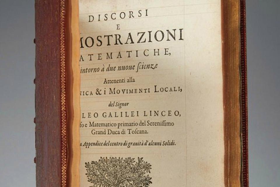Труд Галилея Discorsi, изданный еще при жизни астронома в 1638 году