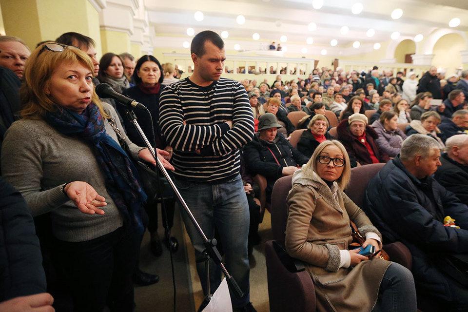 На встречу жителей Пресненского района с главой управы пришли более 700 человек