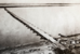 Один из понтонных мостов через Дунай, по которому русская армия переправлялась с румынского на болгарский берег, весна 1877 г.