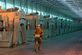 Хакасский завод мощностью 297 000 т металла – один из самых новых заводов UC Rusal