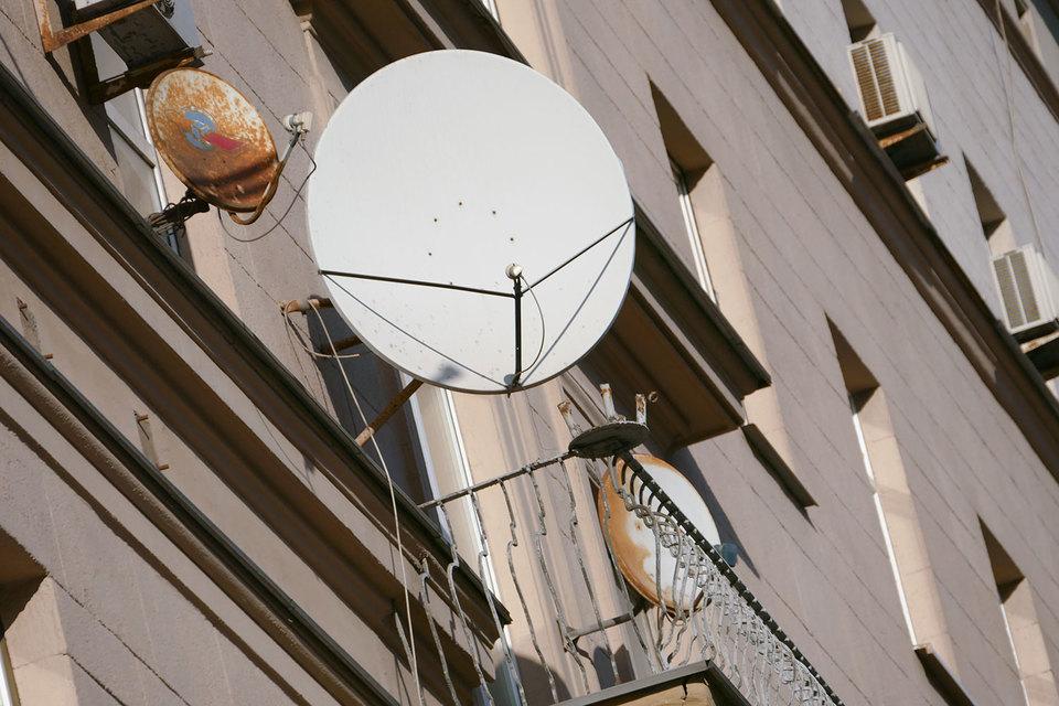 Коллективные антенны в Москве изживают себя