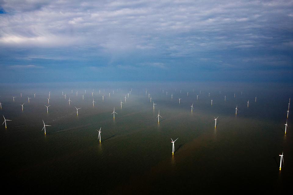 Доля ветряной энергии в генерации выросла в Великобритании с 8 до 18% менее чем за два года