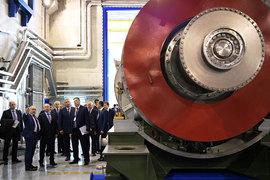 Путин открыл в Рыбинске сборочно-испытательный комплекс газотурбинных агрегатов двигателей кораблей Военно-морского флота