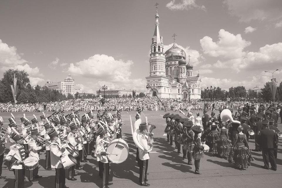 В России XXI в. сложилась единственная практика обеспечения прогресса города – праздник
