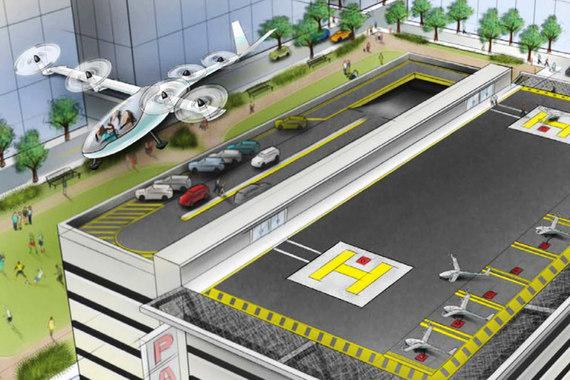 Летающее такси Uber появится в 2023 году