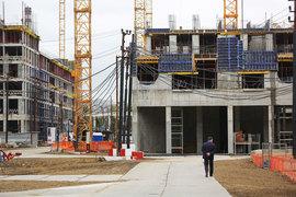 Градостроительно-земельная комиссия разрешила построить на Поклонной улице офисно-гостиничный комплекс
