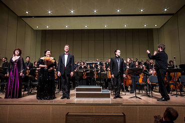 Сцена «Филармонии-2» удостоилась российской премьеры