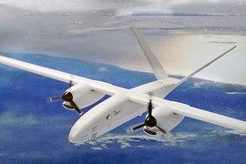 Модель БЛА, представленная на авиасалоне МАКС-2013