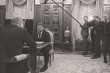 Даже на встрече с Владимиром Путиным Рамзану Кадырову пришлось жаловаться на «провокационные статьи»