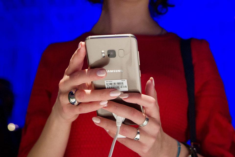 Продажи Galaxy S8 в России вдвое выше, чем у предыдущего флагмана Samsung
