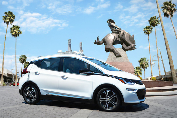 General Motors в марте приобрела за $600 млн стартап из Сан-Франциско Cruise Automation, разрабатывающий самоуправляемые автомобили (на фото)