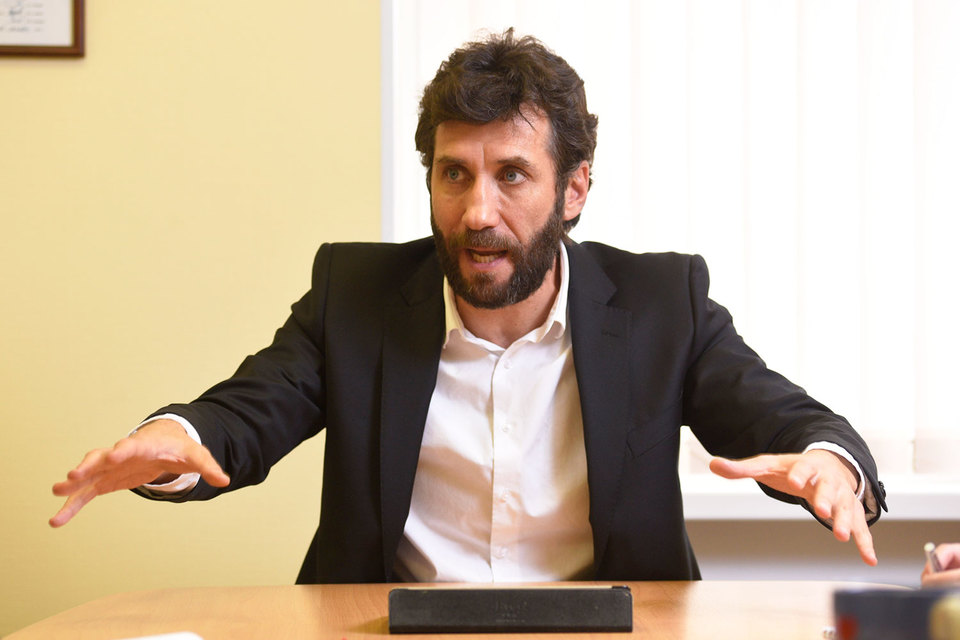 Евгений Мовчан, гендиректор строительного торгового дома «Петрович»