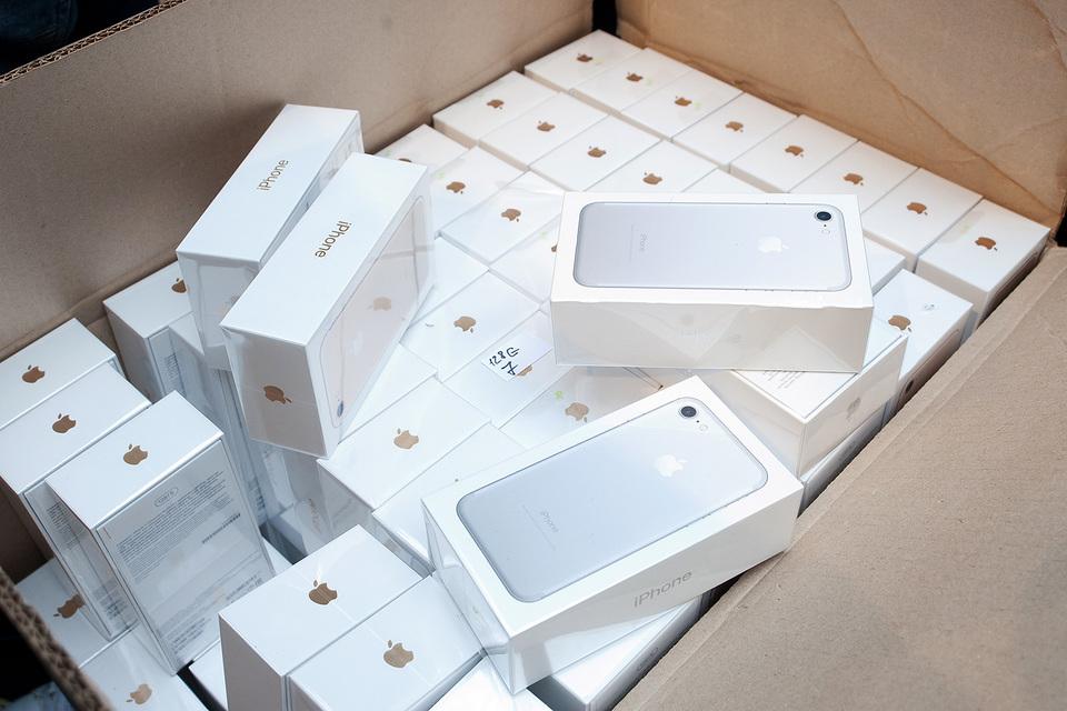 За второй финансовый квартал Apple продала 50,76 млн смартфонов iPhones