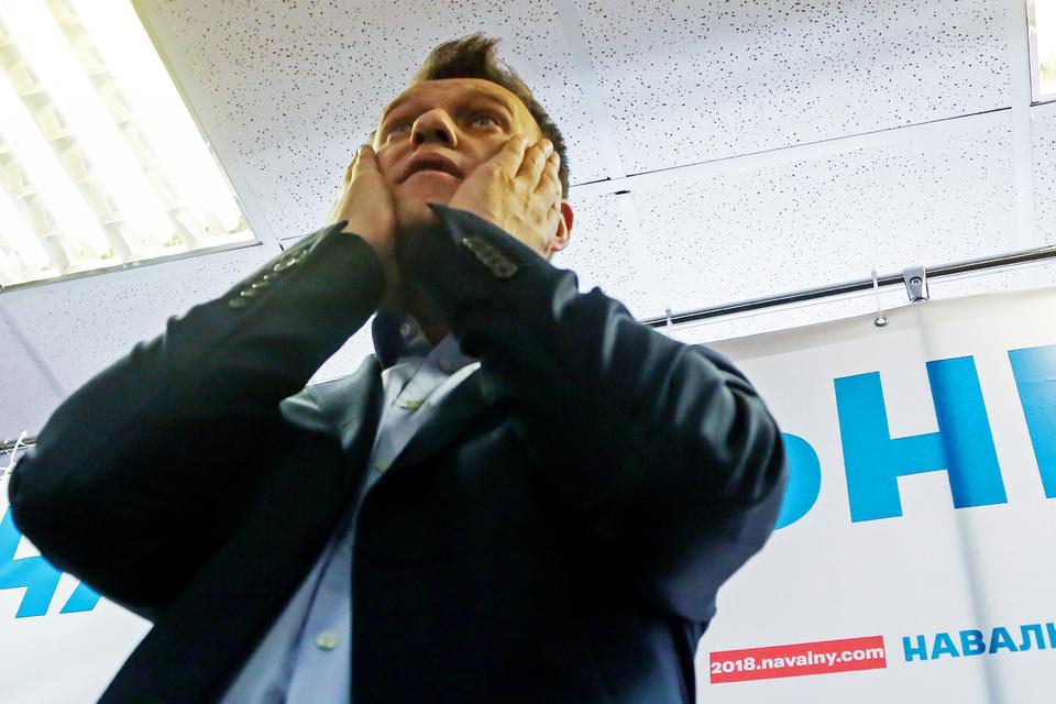 Навальный снова не может быть кандидатом в президенты