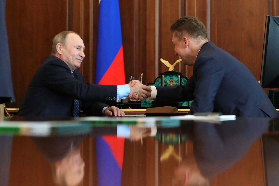 При освоении Тамбейского месторождения «Газпрому» нужны партнеры— Путин