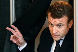 Макрон одержал победу на выборах президента Франции