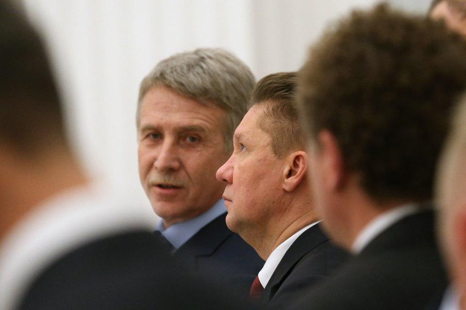 У предправления «Новатэка» Леонида Михельсона (на фото слева) появился конкурент на Тамбейские месторождения