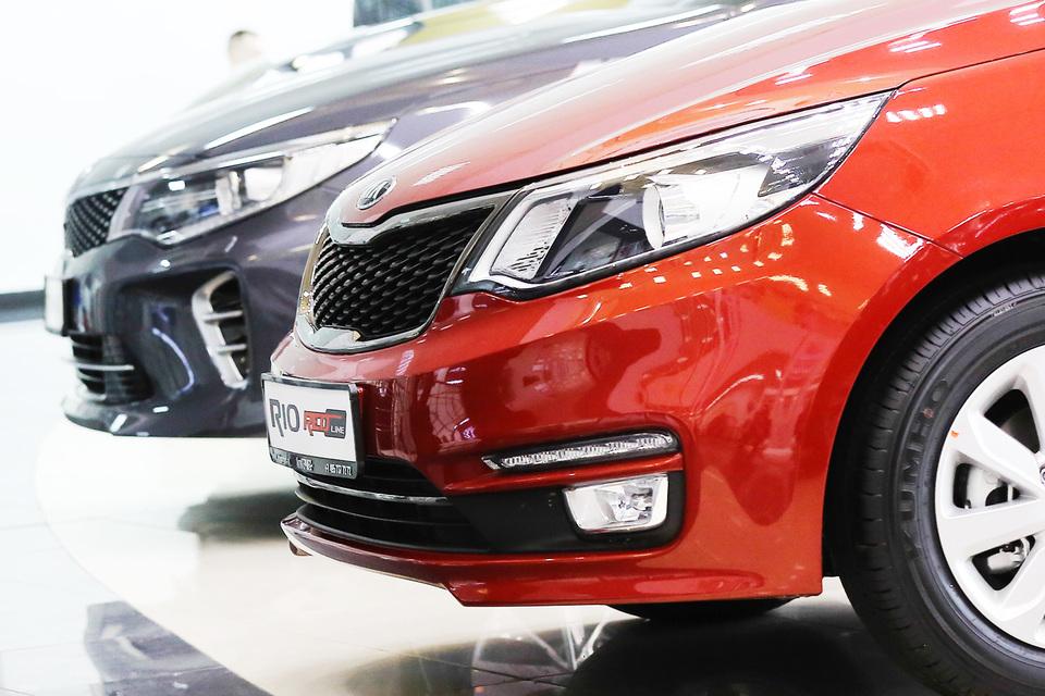 Самой продаваемой моделью автомобиля вновь стала Kia Rio
