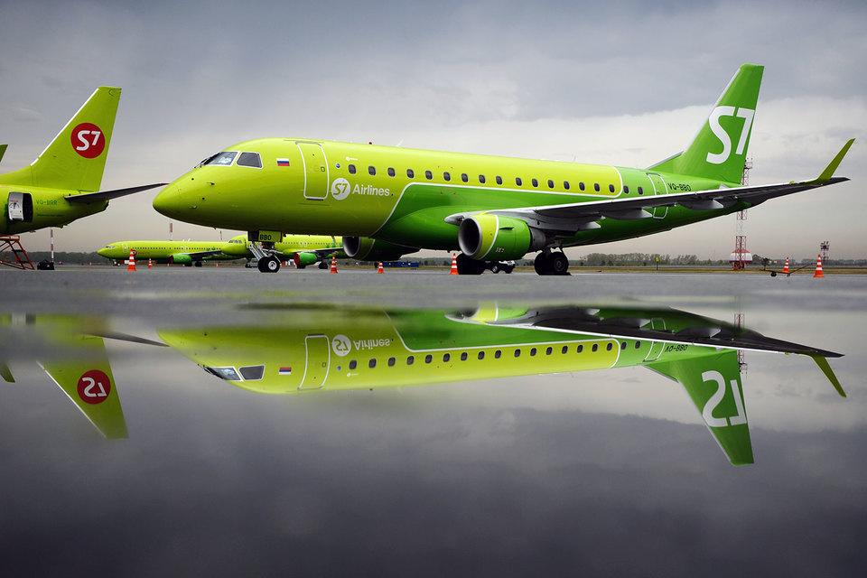 Новые самолеты S7 полетят из Санкт-Петербурга в регионы