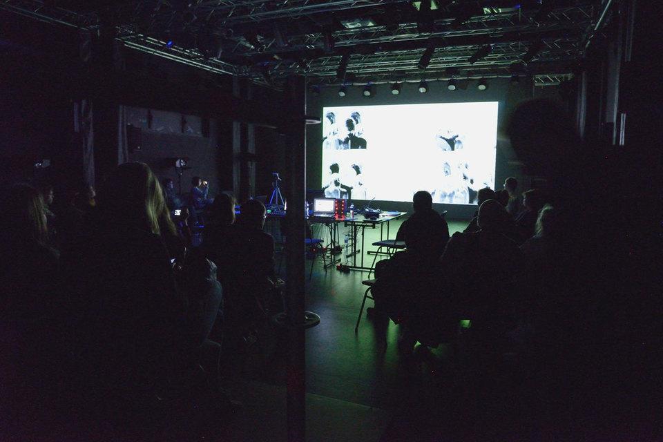 Открытие музыкальной части состоялось в зале-конструкторе культурного центра ЗиЛ