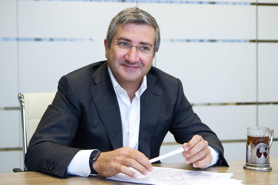 Наум Бабаев, основатель и председатель совета директоров ГК «Дамате» и «Русмолко»