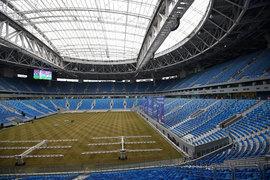 На стадионе «Санкт-Петербург» может появиться рулонный газон - вице-губернатор