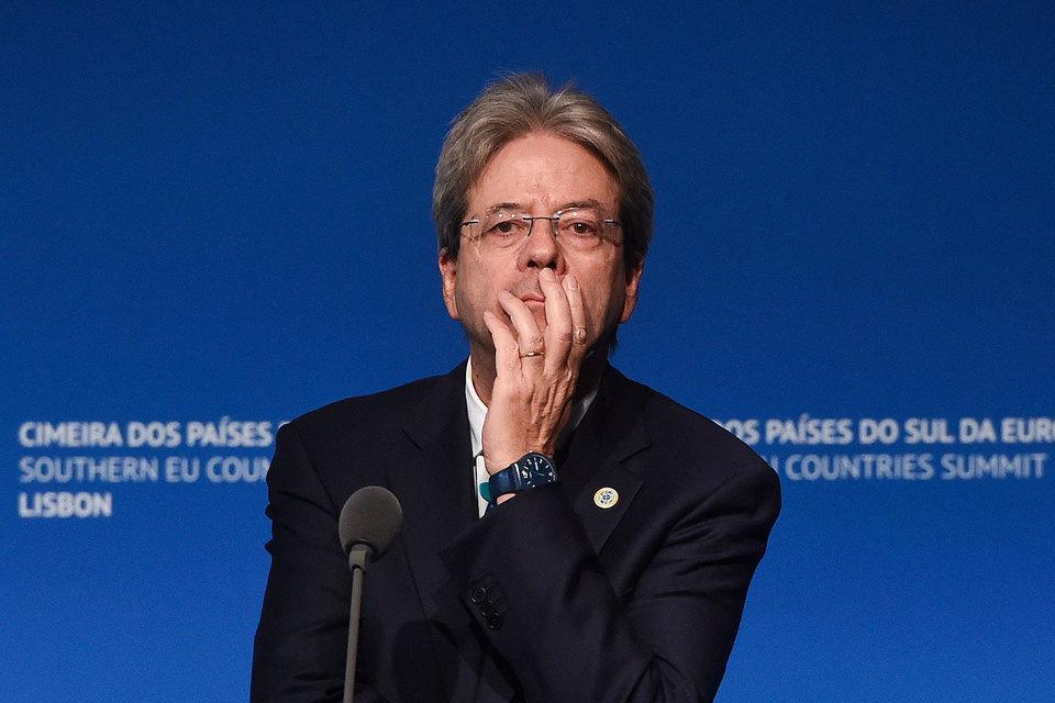 Председатель совета министров Италии Паоло Джентилони