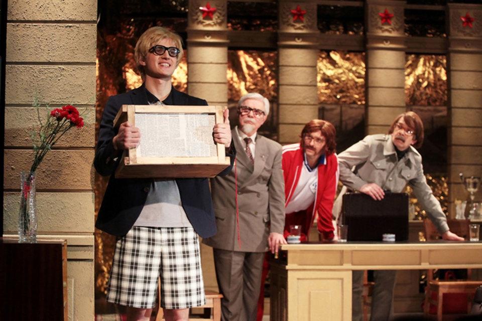 Пьеса Виктора Розова поставлена в «Приюте комедианта» как театр  социальной маски