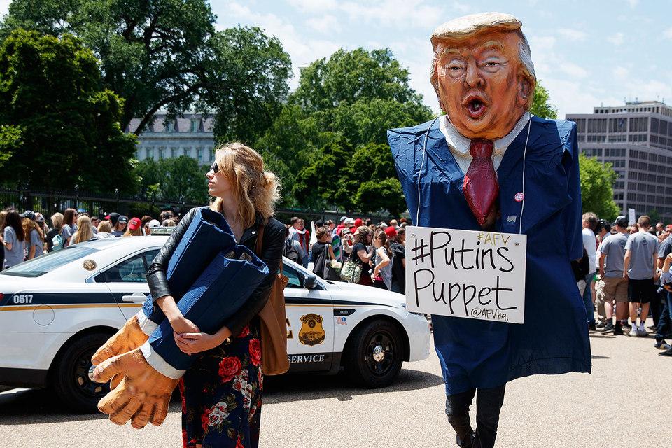 Дональд Трамп назвал расследование о «российском следе» «величайшей охотой на ведьм в отношении политика в американской истории»