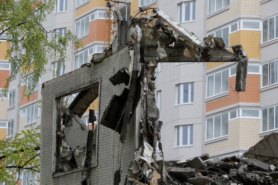 В Государственную думу внесли поправки взакон ореновации пятиэтажек в столицеРФ