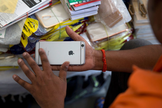 Apple собрала iPhone в Индии