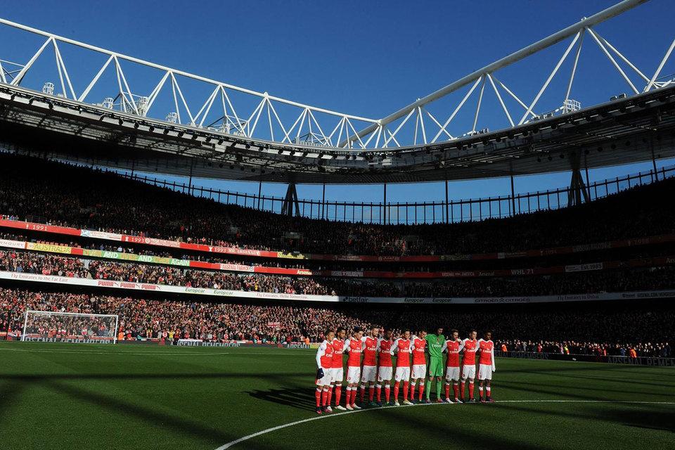За одну игру до окончания текущего сезона Arsenal идет на 5-м месте отставая от 4-го места дающего право играть в следующем розыгрыше Лиги чемп