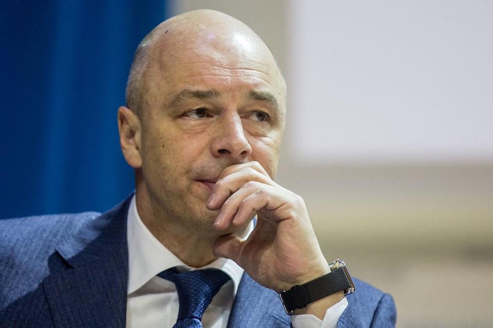 Минфин внес в правительство жесткий вариант бюджетного правила с ценой отсечения $40/барр., рассказал министр Антон Силуанов