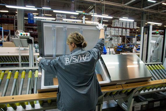 Bosch und Siemens Hausgeraete увеличила экспорт холодильников и стиральных машин из России на 47%