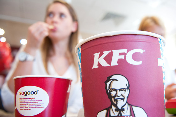 «Шоколадница» открыла первый KFC в московском «Домодедово»
