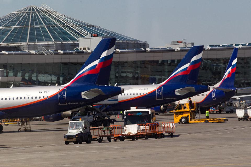 Укрепившийся рубль и «Аэрофлот» помогли «Шереметьево»