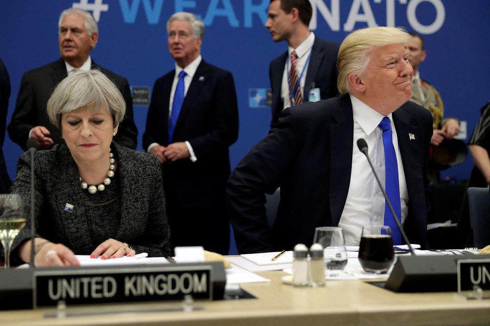 Саммит стал первой многосторонней площадкой, которую посетил президент США Дональд Трамп