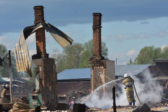 В России сохраняется 70 очагов природных пожаров, сообщает МЧС. Наиболее сложная обстановка складывается в Красноярском крае (на фото) и Иркутской области, в этих регионах введен режим чрезвычайной ситуации
