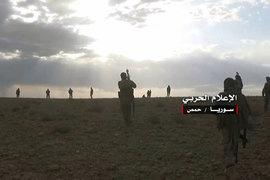 Сирийские правительственные силы и их союзники заняли значительные пустынные территории, ранее подконтрольные преимущественно группировке ИГИЛ (запрещена в России)