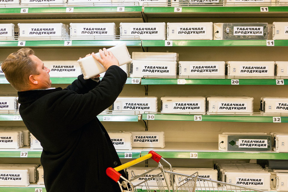 Вместо ЕГАИС «Табакпром» предлагает маркировать табачные изделия