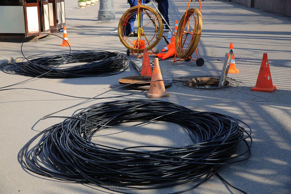 Большая часть кабельной канализации в Москве сейчас принадлежит МГТС