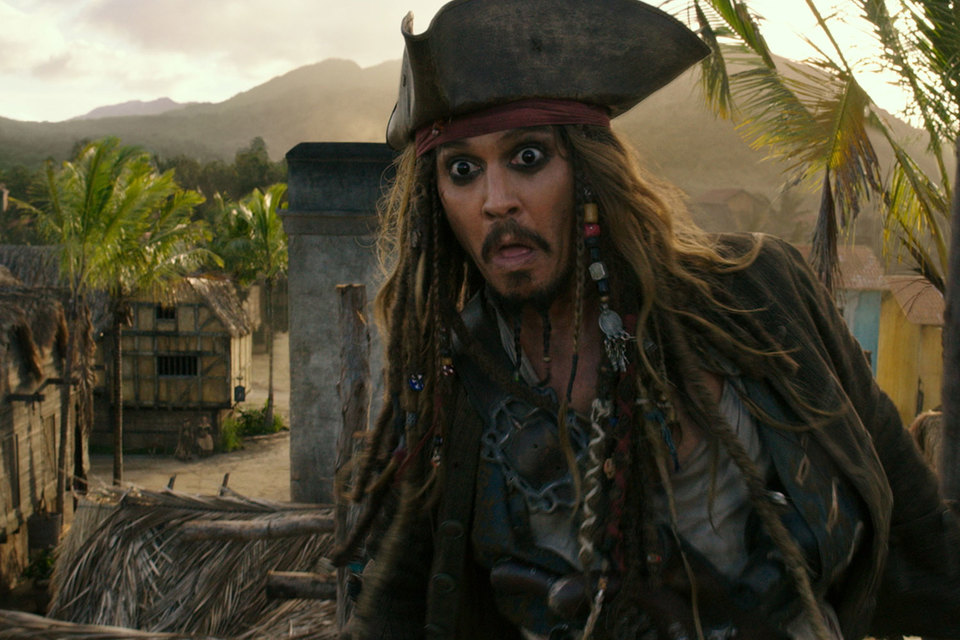 Половину сеансов уикенда кинотеатры отвели под продолжение «Пиратов Карибского моря»