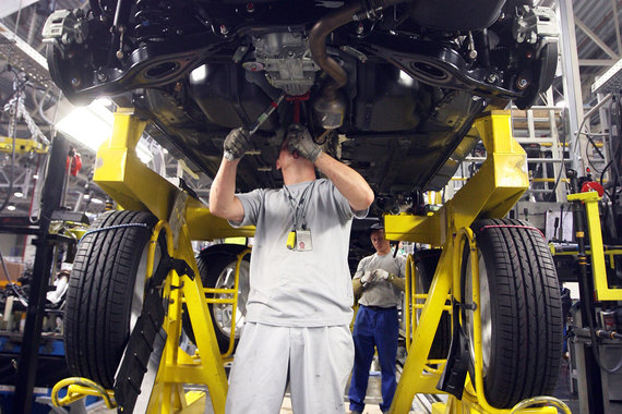 Завод «ПСМА рус» в Калуге на три недели приостановил выпуск автомобилей