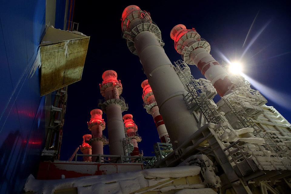 Проект «Ямал СПГ» реализуется на полуострове Ямал на базе Южно-Тамбейского месторождения
