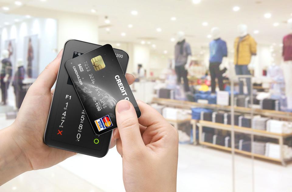Оплата картой через мобильный терминал