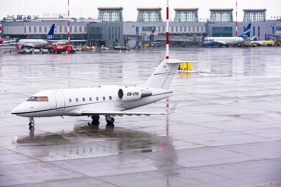 В дни «ПМЭФ» Пулково примет не меньше 220 судов деловой авиации