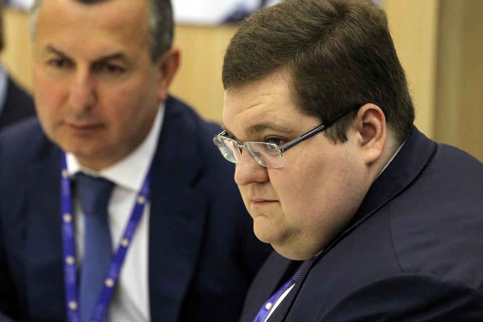 «Российский павильон», по словам Игоря Чайки (на фото справа), заработает к концу 2017 года