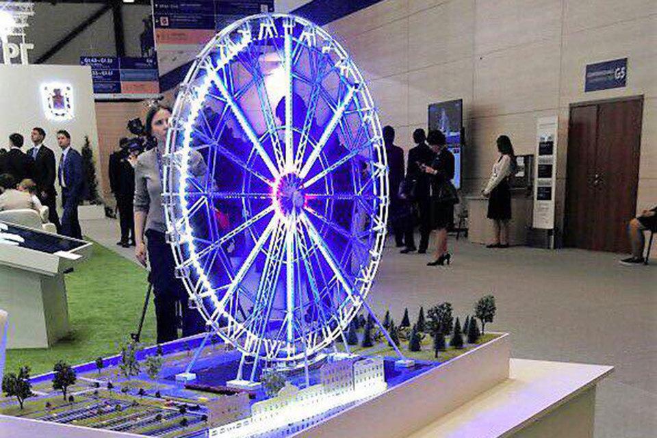 Becar Asset Management Group рассчитывает, что колесо обозрения станет достопримечательностью и будет привлекать в город иностранных и российских туристов