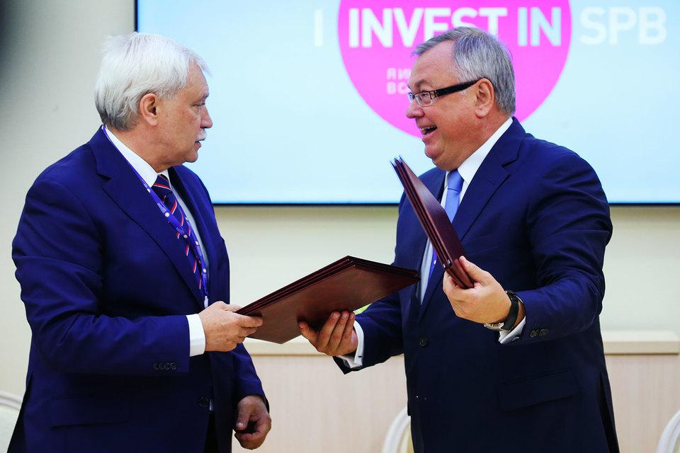 Соглашение с ВТБ предполагает инвестиции в 110 млрд руб.